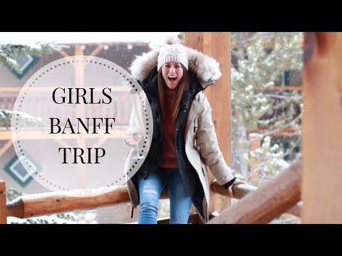 Travel  Girls Banff Trip