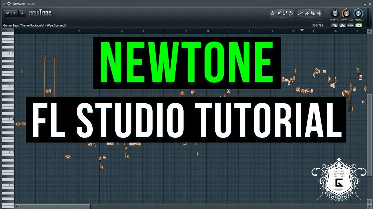 fl studio how to use newtone