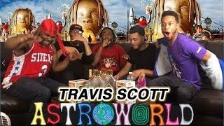 ITS LIT! TRAVIS SCOTT - ASTROWORLD FULL ALBUM REACTION/REVIEW