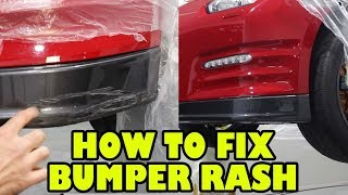 How to Fix Bumper Gutter Rash