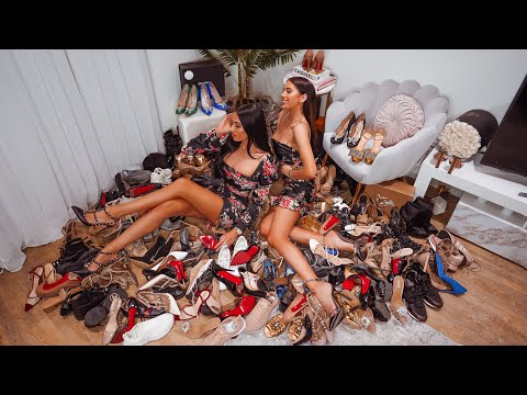 OUR ENTIRE SHOE COLLECTION - 112 PAIRS!!!