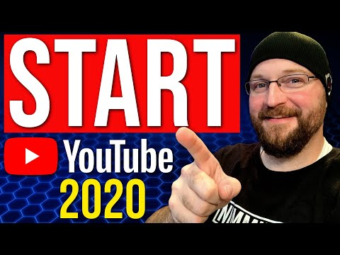 How To Get Started On YouTube 2020