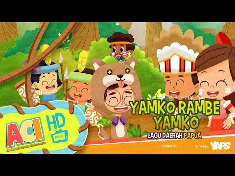 Lagu Yamko Rambe Yamko - Animasi Cerita Indonesia (ACI)