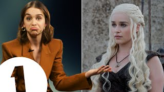 """Can I take a wig!?"" Emilia Clarke on Game Of Thrones mementos, her 'Story So Far' & Last Christmas"