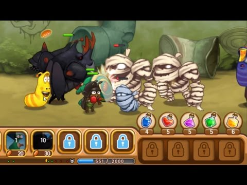 larva-heroes-:-episode2-(gameplay-android)
