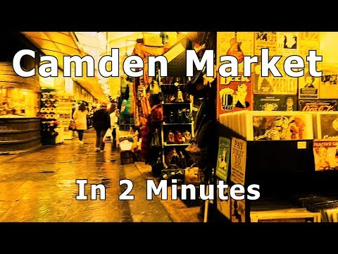 Most Famous London Market | Camden Market in 2 Minutes