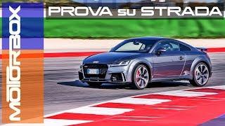 Nuova Audi TT RS 2017 | la prova su strada e in pista a Misano