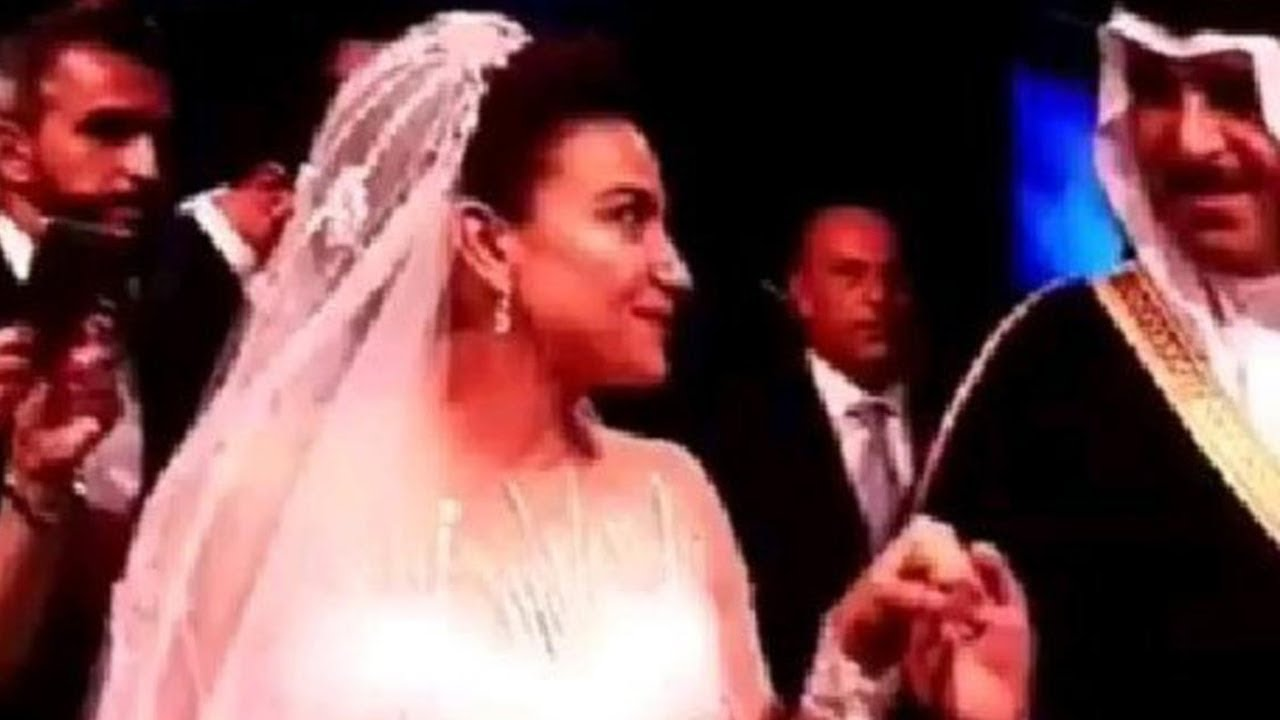 شاهدوا زفاف أسطوري للأميرة نور بنت عاصم من رجل الاعمال السعودى