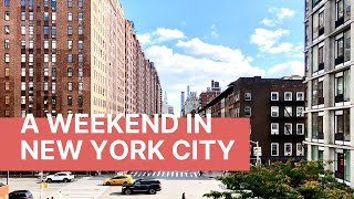 Weekend in New York City: Minute Vlog Trip