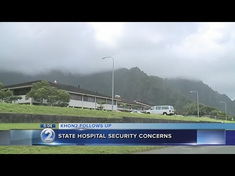 Senate to probe security at Hawaii State Hospital