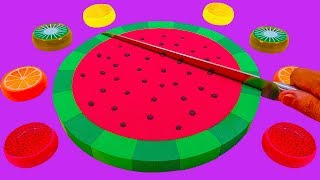 Kids Songs, Video for Kids Learning Colors with Kinetic Sand Shapes