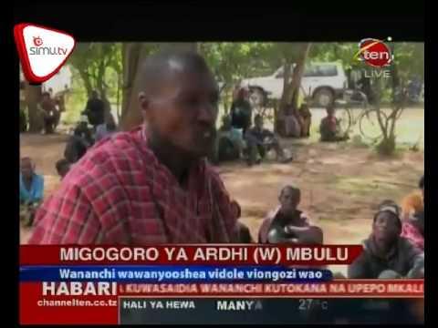 Migogoro Ya Ardhi Wilayani Mbulu