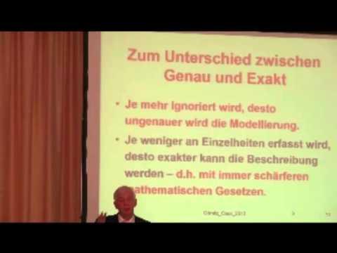 Die Evolution des Geistigen, Vortrag von Prof. Dr. Thomas Görnitz Teil 1