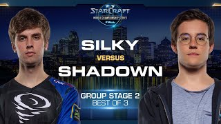 ShaDoWn vs Silky PvZ - Group Stage #2 - WCS Fall 2019