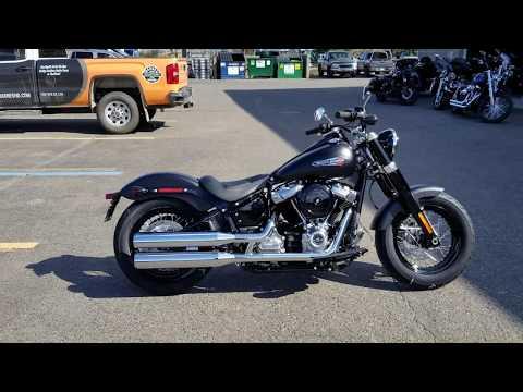 2020 Harley-Davidson FLSL Softail Slim - YouTube