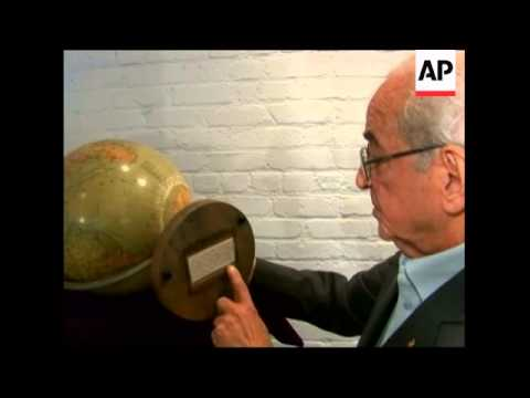Auction of globe used by Adolf Hitler