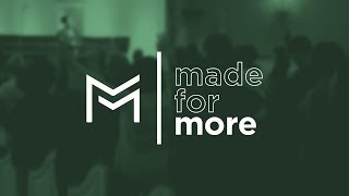 You Were Made for More | Pastor Willie Alfonso