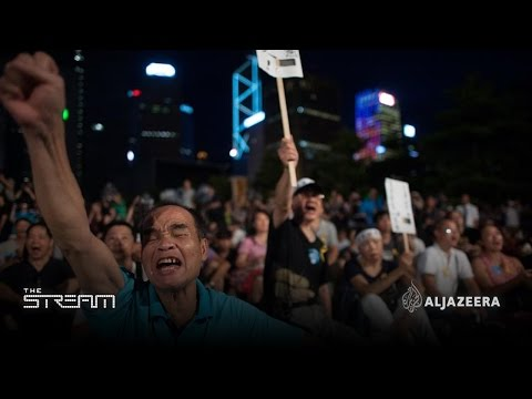 The stream - #OccupyCentral rallies for democracy in Hong Kong