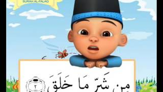 Download lagu Surah al Falaq Belajar Menghafal Al Qur an bersama Upin Ipin MP3