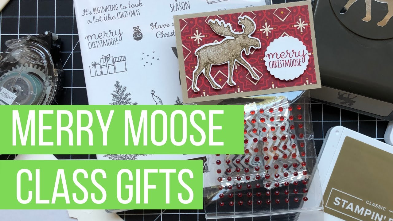 NEW PRODUCT Merry Moose Gift for Class