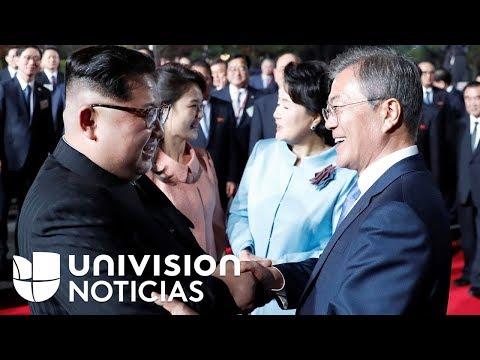 Los momentos más simbólicos del histórico encuentro entre los gobernantes de las dos Coreas