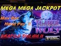 ★MEGA MEGA JACKPOT ! ★☆Timber Wolf Deluxe Slot machine ☆HAND PAY (MAX BET $2.50)