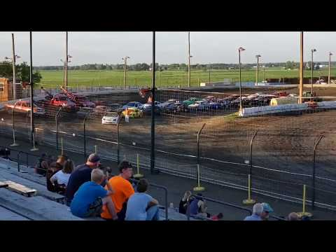 Sycamore speedway racing July 12, 2012 Compact Qualifying Jacob