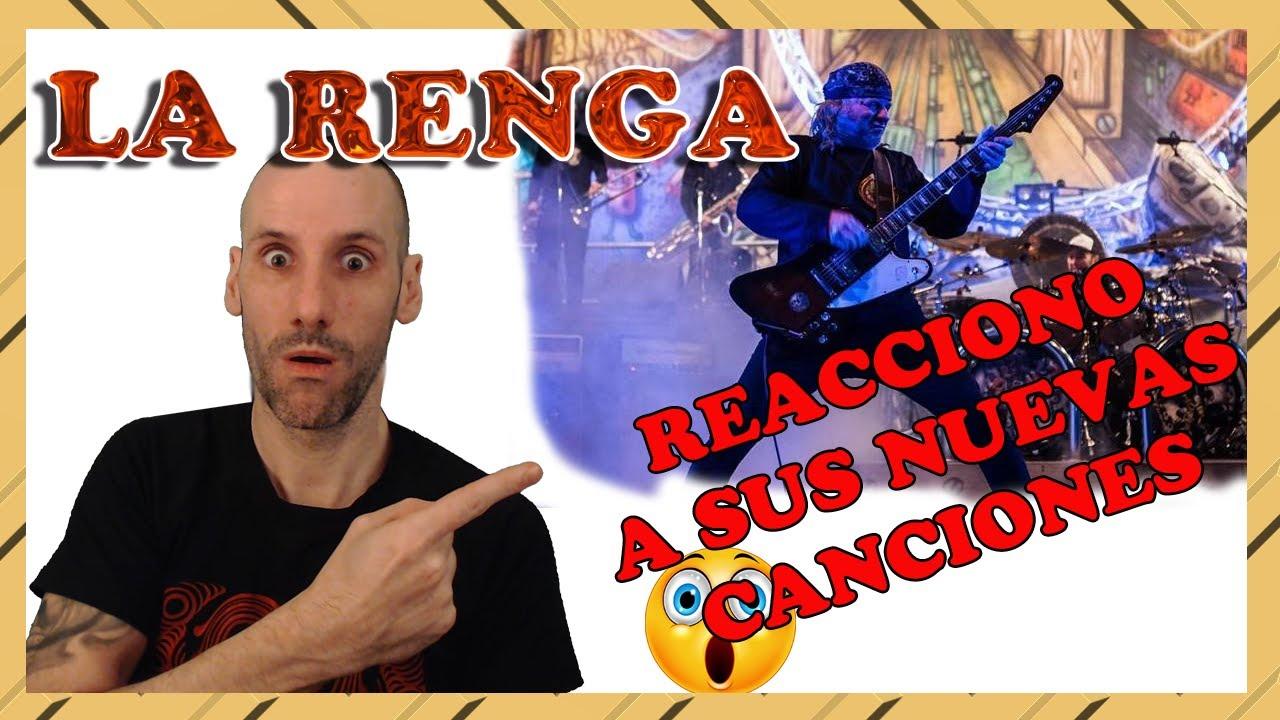 💥REACCIÓN!! la RENGA |🦁 NUEVAS CANCIONES!!!! 😱 | REACTION 2020