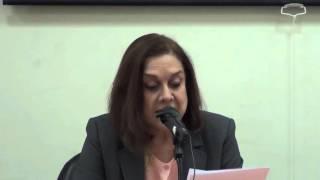 كلمة الدكتورة منيرة فخرو - قراءة في تداعيات ما بعد الإتفاق النووي الإيراني ورفع العقوبات