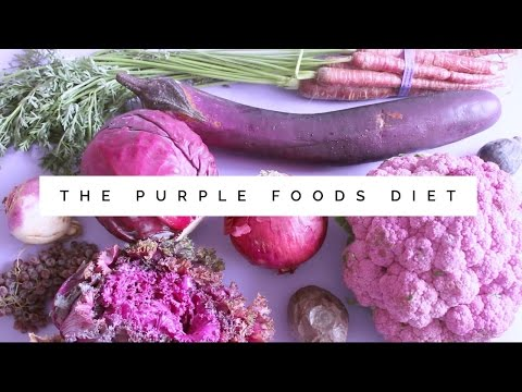 The Purple Foods Diet!? 🍇🍆🍴