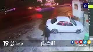 الأجهزة الأمنية تبحث عن سائق سيارة دهس شابا ولاذ بالفرار - (3-11-2017)