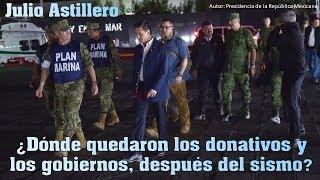 Dnde quedaron los donativos y los gobiernos despus del sismo