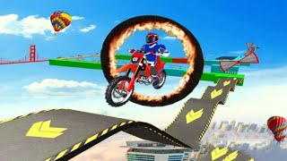 Ramp Impossible Motor Bike Tracks 3D #Android GamePlay #Bike Games To Play #Motorcycle Race Game