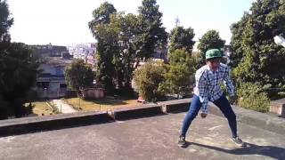MANJUL DOING LYRICAL FREESTYLE ON SONIYE(HEARTLESS) SONG