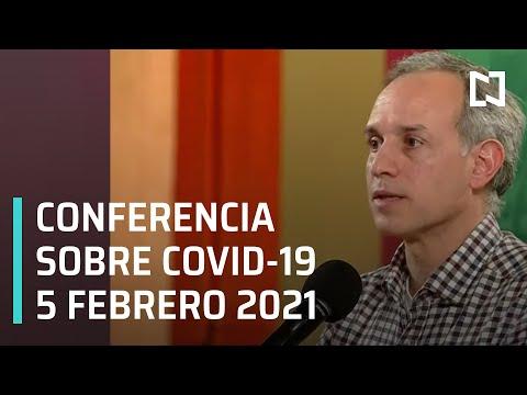 Conferencia Covid-19 en México - 5 febrero 2021