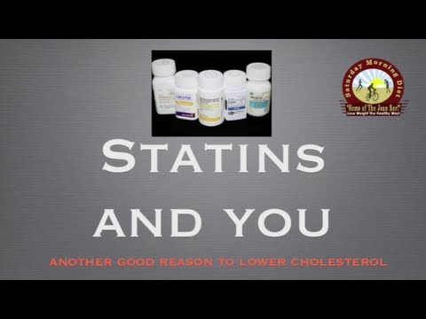 Statins, Cancer and Your Health
