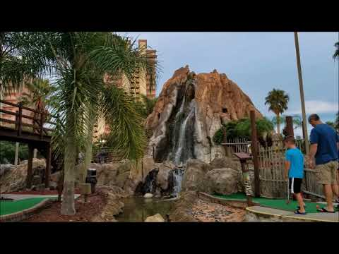 4k Hawaiian Rumble Adventure Golf Orlando Fl Tour And Overview Walkthrough Attraction Hd
