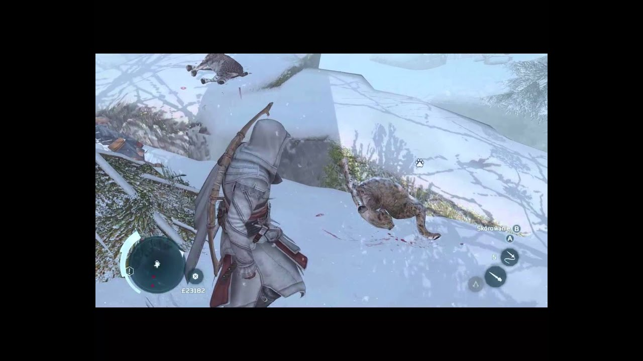 Assassin's creed III Have you seen lynx?