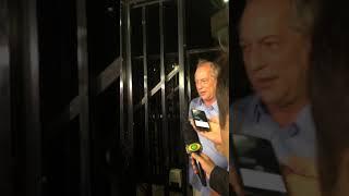 """Ciro Gomes comenta resultado das eleições e afirma: """"Ele não!"""""""