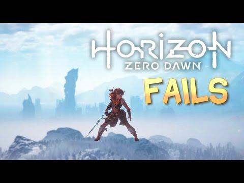 Horizon Zero Dawn FAIL Compilation