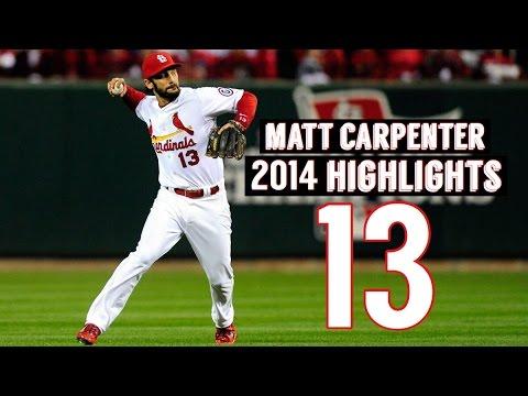Matt Carpenter | 2014 Cardinals Highlights HD