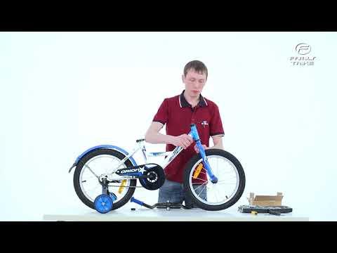 Сборка детского велосипеда VELOLIDER из коробки