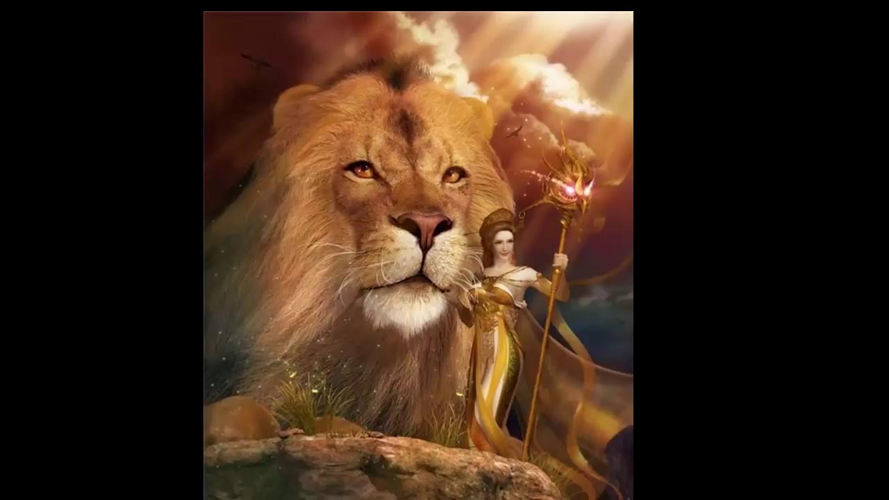 Открытка с днем рождения для льва, для новогодних