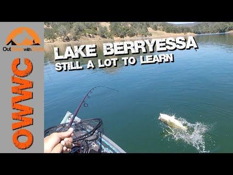 Kayak Fishing Lake Berryessa - More Nucanoe Pursuit Fishing