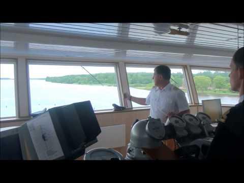 видео: Экскурсия в рулевую рубку