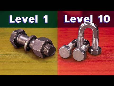 EVERY LEVEL PUZZLE SOLVING   from 1 to 10 metal puzzles  