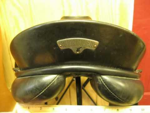 Used Dressage Saddle for Sale- Kieffer Orphee 17.5