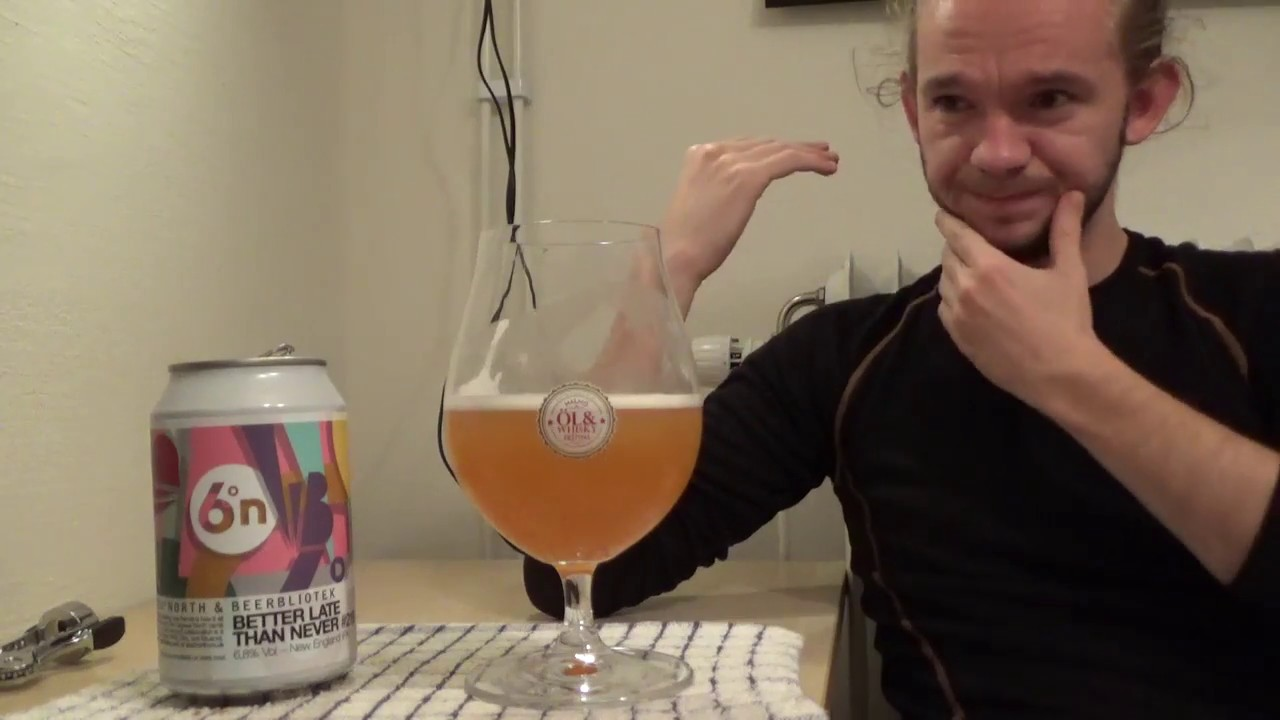 Beer Review 1407 Beerbliotek Six Degrees North Better Late Than Never 219 Sweden Scotland