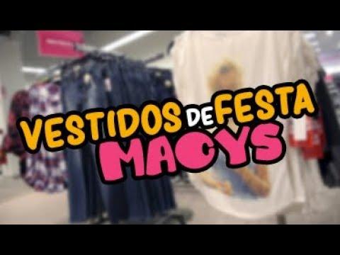 VESTIDOS DE FESTA na MACY