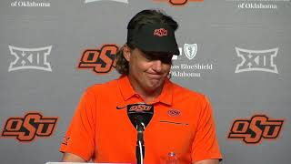 OSU Football: Mike Gundy on loss to Baylor